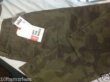 Unisex VANS Jeans Size 25/10 green Camopflage straight leg Retail $48  MSRP