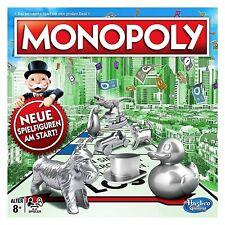 Hasbro Monopoly Classic C1009100, Brettspiel, Familienspiel, NEU + OVP