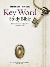 Hebrew-Greek Key Word Study Bible: NASB [Brand New Hardcover]