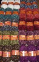 Lot of 3 skeins Patons Bohemian Yarn, 80 grams, 68 yards, You Choose Color