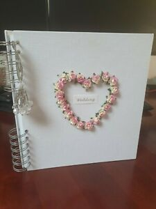 30 page Linen Bound Wedding Album by pinkpineapple