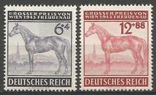 Germany (Third Reich) 1943 MNH - Grand Prix Vienna Freudenau Race Horses