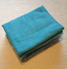 5x Large 60cm x 120cm Microfibre Cleaning Cloth Towel Car Waxing Polishing BLUE