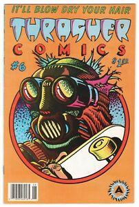 Thrasher Comics #6 ~ skateboard comics VF