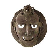 Masque royal bronze royaume Bamoun Bamun Benin  art africain mask