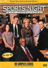 Sports Night ~ The Complete Series Plus Pilot Episode ~ 6-Disc DVD Free Shipping