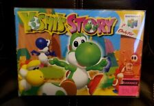 YOSHI'S STORY - Nintendo 64 N64 - Complete CIB Box Boxed - Authentic - Genuine