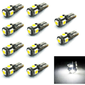 10X T10 w5w 501 Car Bulb LED Interior Lights SMD CANBUS Error Free Number plate