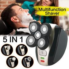 5in1 Men Bald Head Shaver Beard Razor Cordless Hair Grooming Trimmer Clipper