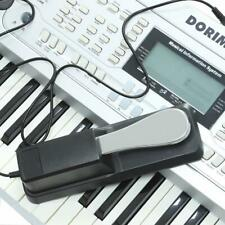 Damper Sustain Pedal w/ Polarity Switch for Electric Yamaha Piano Keyboard