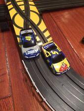 Life-Like NASCAR TURBO BLASTER HO SCALE ELECTRIC SLOT RACING Set Please Read!