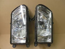 HONDA PASSPORT 00-02 ISUZU RODEO 00-02 HEADLIGHT SET RH + LH OE BRIGHT CLEAR L/N
