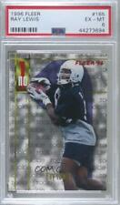 1996 Fleer Ray Lewis #165 PSA 6 Rookie HOF