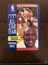 1992 Fleer All Star Team -#211 Michael Jordan