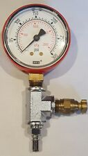 """New listing Wika 2.5"""" Pressure Gauge 300Psi Never used ~ Quick Connect & Release ~ Nos ~"""