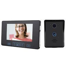 Mecor 2.4G 7Inch Doorbell Intercom System Wireless Video Phone Door Phone Camera