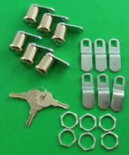"RV Motorhome Trailer Storage 7/8"" Door Cam Lock Set 6 Prime Products 18-3315-6"