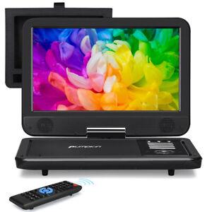 "10.1"" Tragbarer DVD CD Player Auto Monitor HDMI Fernseher USB/SD AV-in/out AKKU"