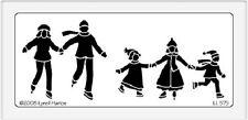 Dreamweaver Stainless Steel Embossing Stencil - Skater Family - LL575 - New In