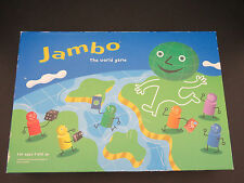 Jambo The World Board Game Ages 7 + 2-6 Play Learn About the World- Homeschool