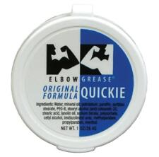 Elbow Grease Original Cream Quickie - 1oz Oil Based Lube