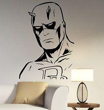Daredevil Decal Vinyl Wall Sticker Comics Superhero Art Room Bedroom Decor ddl1