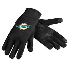Miami Dolphins NFL Neoprene High End Technology Touch Texting Gloves FREE