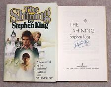 STEPHEN KING SIGNED 'THE SHINING' HARDCOVER HC BOOK W/COA END OF WATCH PROOF
