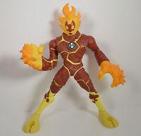 """HUGE 13"""" Heatblast 2006 Bandai Action Figure Ben 10 Ultimate Alien (VERY clean)"""