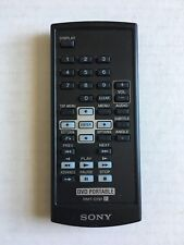 Sony Portable DVD Player Remote Control RMT-D191