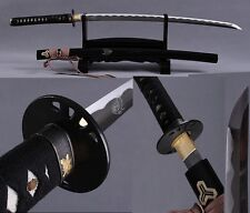 Japanese Ninja Sect Shrine Samurai Sword Katana Carbon Steel Kill Bill Sword #57