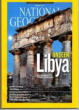 National Geographic - February 2013 Back Issue Unseen Libya Satelite Archaeology