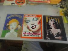 Rare Lot 4 Marilyn Monroe Magazine German,Japanese and American