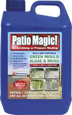 Patio Magic Green Mould Algae Killer Liquid Concentrate Bottle 2.5l up to 85 M2