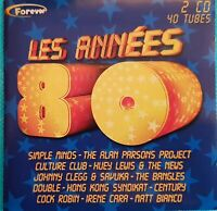 DOUBLE ALBUM CD LES ANNÉES 80 Ref 3338
