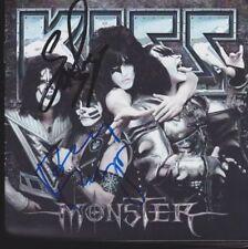 "KISS ""Monster"" CD Album Booklet original signiert IN PERSON Autogramm signed"