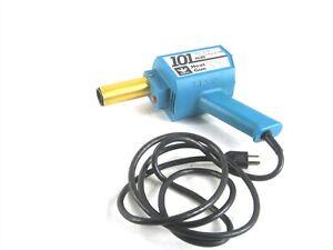 Ideal Industries 101 Plus Heat Gun Cat No. 46-013 120V 4.5A 60Hz+46-922 Nozzle