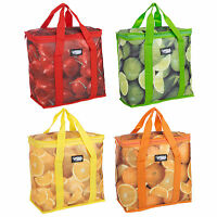 16L Insulated Fruity Cooler Freezer Bag Lunch Food Cans Ice Box Summer Camping