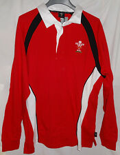 WELSH RUGBY UNION Long Sleeve Shirt WRU Shirt Sz XL NWOT