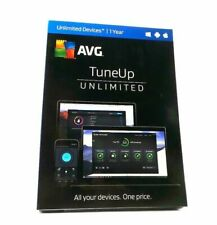 AVG TuneUP Unlimited ( Devices -1 Year ) for Windows, Mac, Android NEW #8060