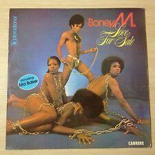 """BONEY M """"LOVE FOR SADE""""  - VG+/VG+ - N° 67193  - LP 33 TOURS"""