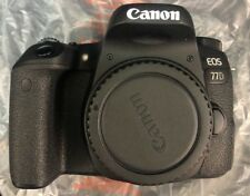 Canon EOS 77D 24.2MP Digital SLR Camera - Black (Kit w/ EF-S 18-135mm Lens)...