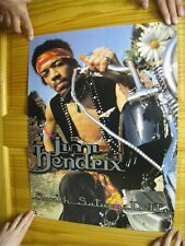 Jimi Hendrix Poster South Saturn Delta Face Shot On Motorcycle