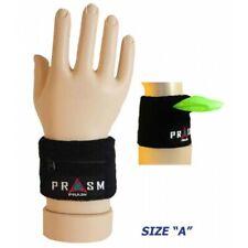 PRASM Unisex Zipper-Pocket Designer Sports Wristbands - S