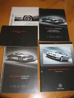 Mercedes Benz  Mcklaren SLR - Serviceschrift - Prospekte - Roadbook 2007