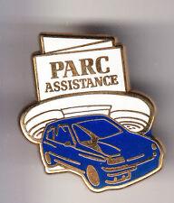 RARE PINS PIN'S .. AUTO CAR F1  RENAULT BANQUE BANK PARC ASSISTANCE OR PLAXIS~CK