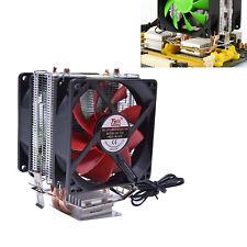 Silent Dual CPU Cooler Heatsink For Intel LGA775/1156 AMD AM2+/AM3/AM4 Ryzen UK