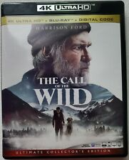 THE CALL OF THE WILD 4K ULTRA HD BLU RAY 2 DISC SET FREE WORLDWIDE SHIPPING