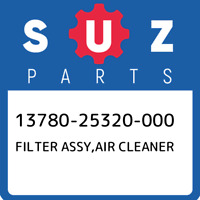 13780-25320-000 Suzuki Filter assy,air cleaner 1378025320000, New Genuine OEM Pa