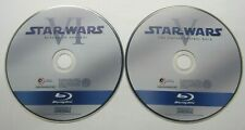 StarWars: Return of the Jedi + The Empire Strikes Back (Blu-ray Discs Only) Vg